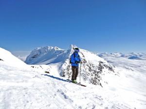dr.snow beim Heliskiing in Nordschweden