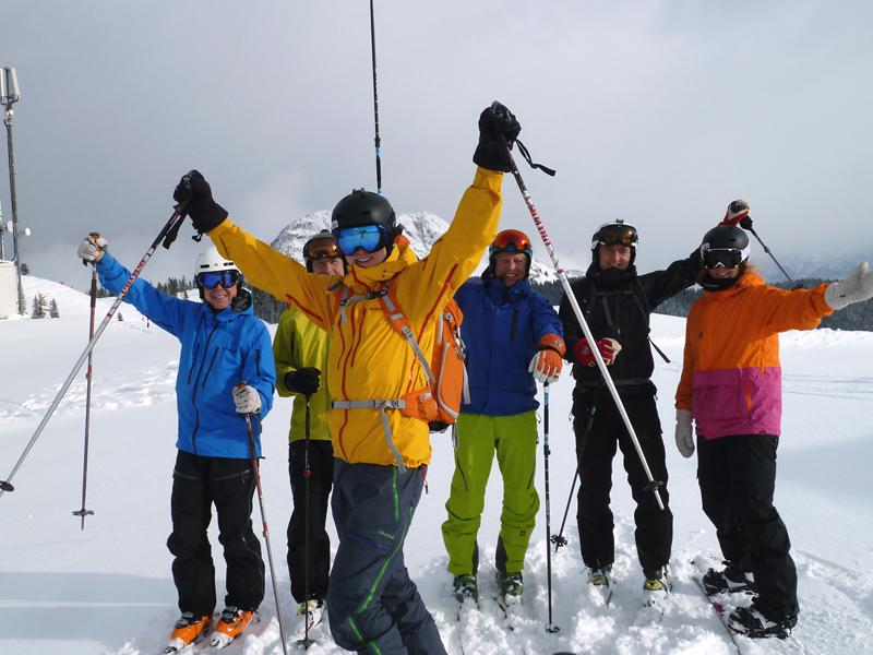freeride skiing Saalbach-Hintergelmm